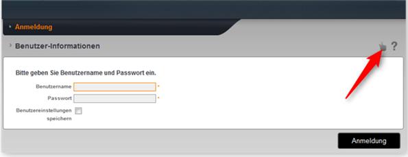 Passwort-reset